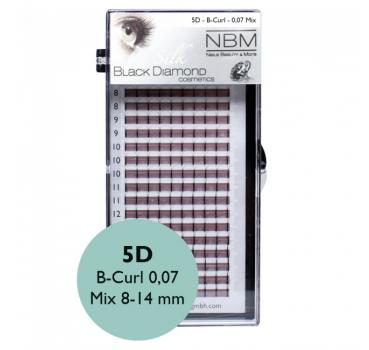 BDC 5D-Lashes B-Curl 0,07 Mix - NBM