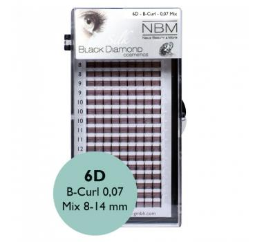 BDC 6D-Lashes B-Curl 0,07 Mix - NBM