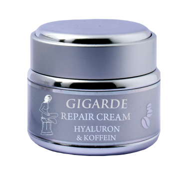Repair Cream Hyaluron & Koffein 50ml - Gigarde