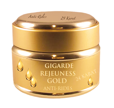 Gold Creme Rejeuness - 24 Karat Gold 50ml - Gigarde