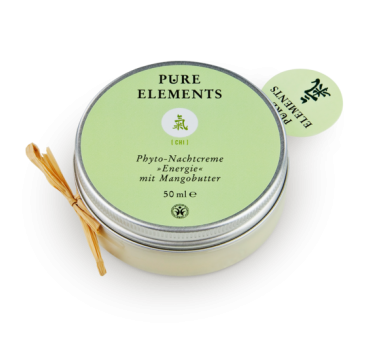 Chi Nachtcreme Energie mit Mangobutter 50 ml - Pure Elements